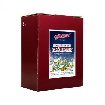 Roter Winzerglühwein, 3 Liter Bag in Box