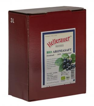 Bio Aroniasaft, 3 Liter Bag in Box