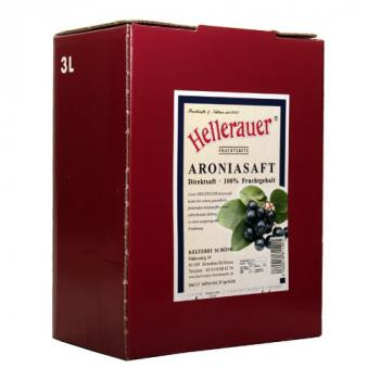 Aroniasaft, 3 Liter Bag in Box